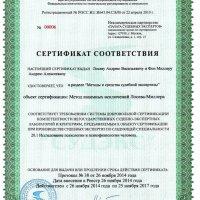 сертификат Метода Взаимных Исключений